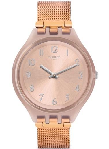 Swatch SVUP100M Rose Gold Kadın Kol Saati Pembe